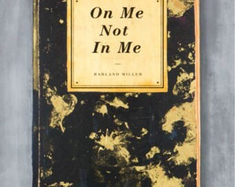 Harland Miller 'on me not in me' print