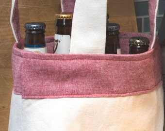 Beer bag - Canvas Reversible