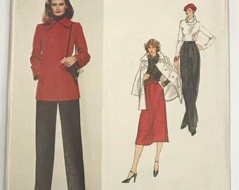 Vogue Paris Original 1517, GIVENCHY, FF, UNCUT, Size 14
