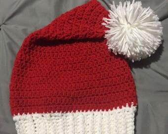 Adult Santa hat (hand made)