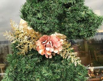 Classic Goldendoodle Wreath Rosegold