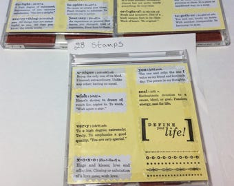 Stampin'up Define your life