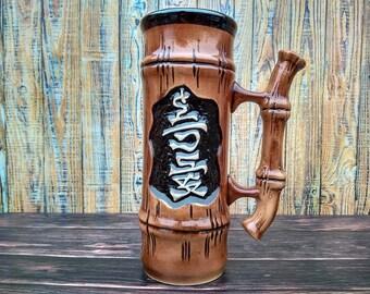 German stein beer Stoneware beer mug Ceramic beer tankard Pottery beer mug Ceramic beer mug German beer mug Groomsmen beer mug Gift for dad