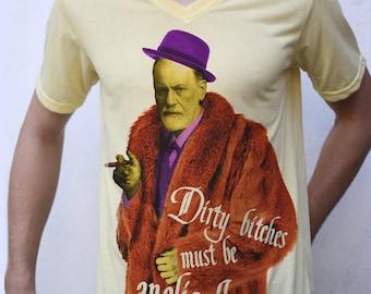 Sigmund Freud T shirt, Pimp Parody