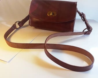 Odra-Real leather shoulder bag