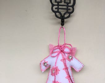 Angel qipao ornament