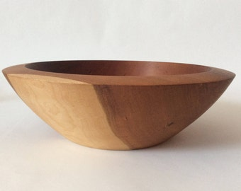 Cherry Bowl - Wood Bowl - Wooden Bowl - Hand Turned Bowl