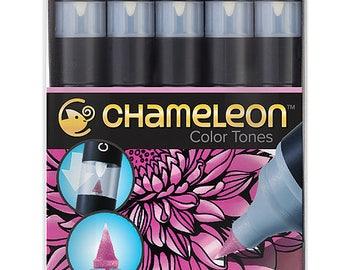 Chameleon Pens-Set of 5-floral tones