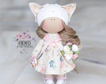 Handmade Textile Doll