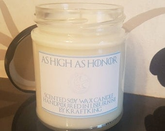 High As Honor - Scented Soy Wax Candle 8oz Container