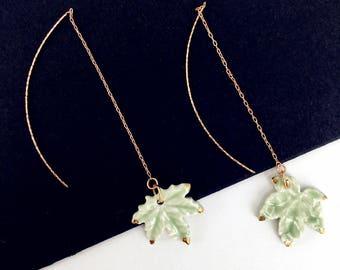 WIND Earrings - Inkston & YIER Designers Porcelain Jewelry