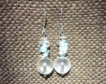Dew Drop Earrings by Galactic Gaia Gems