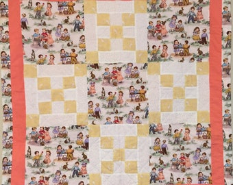 Easter Picnic Wall-Hanging Quilt