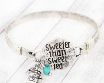 Sweeter Than seet Tea Bracelet / Southern Style Bracelet