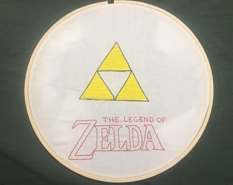 Legend of Zelda Embroidery