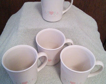 Corning Ware Forever Yours Mugs