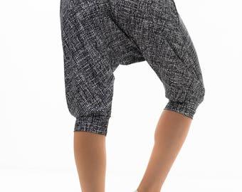 Drop Crotch Pants / Low Crotch Pants / Baggy Pants / Harem Pants / Monochrome  Drop Crotch Pants/ Loose Pants/ Yoga Pants/ Dance Pants/
