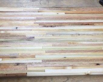 Oak, Pine, & Poplar Cutting Board