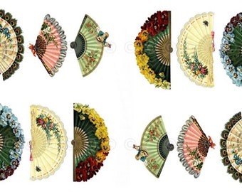 Fans Water-Slide Decals, Decorate Flame-less Candles, Soap, Glass, Home Decor, Furniture, Magnets, Jewelry, Craft Projects, Scrapbooks