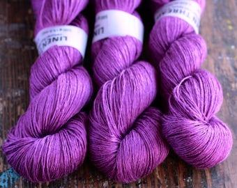 Linen yarn - 4-ply - fingering -- 010