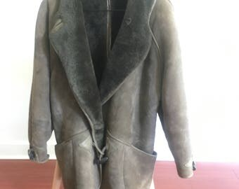 "Vintage Shearling ""Car Coat"""