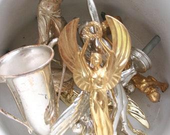 Vintage trophy tops gold silver 7 pieces