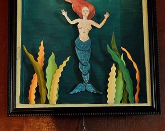 Mermaid Moving Box