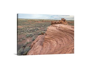 Native American, Arizona Desert, American Southwest, Anasazi, Flagstaff, American Indian, Western Picture, Canvas Art, Ready to Hang