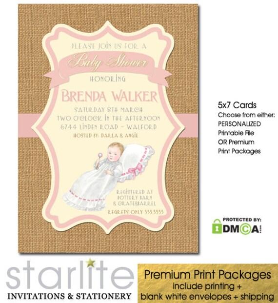 Baby girl princess baby shower invitation baby shower invitation il570xn filmwisefo
