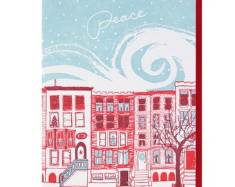 Peaceful City Holiday card (box of 10)