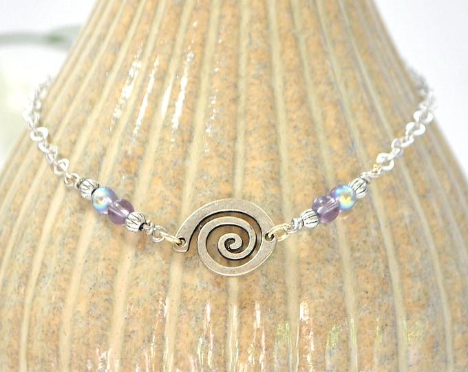 Celtic Circle Anklet Charm Ankle Bracelet Celtic Ankle Bracelet Charm Anklet Handmade Anklet