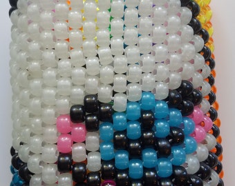 Rainbow picture kandi cuff Mamegoma ON SALE 50% OFF