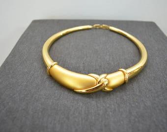 Vintage Gold Necklace by Napier Women's Short Necklace