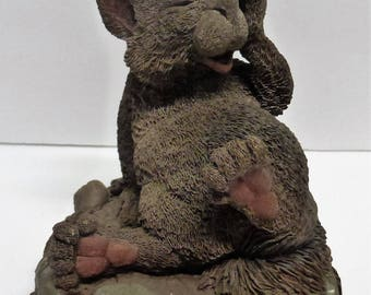 Vintage Cairn Studio Tim Wolfe Kelly the Irish Squirrel ReSigned and Retired