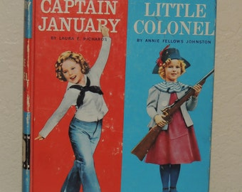 Shirley Temple Captain January and the Little Colonel Book