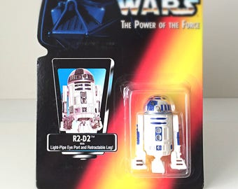 Star Wars Gift, R2D2 Star Wars Figure, Vintage Action Figure Toy, The Last Jedi, R2-D2 Star Wars Droid, Boyfriend Gift, Kids Toy