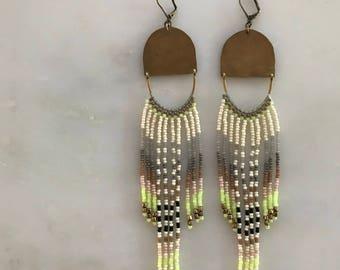 ready to ship! // Keysha Fringe Earrings