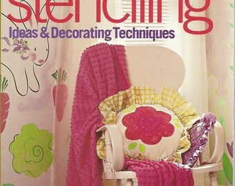 """Better Homes and Gardens """"Stenciling Ideas & Decorating Techniques"""" Book"""