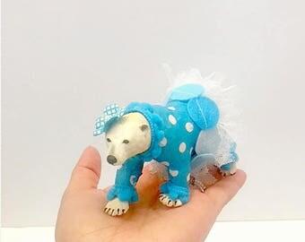 Little Poppy Polar Bear Cake Topper