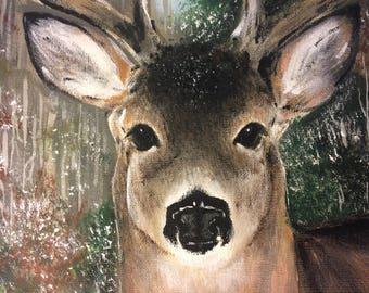 Custom painting from photo, Custom portrait, Custom art, Original painting, Acrylic painting, Personalized gift