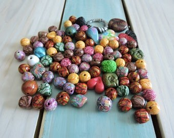 95 Piece Mixed Bead Lot # 2