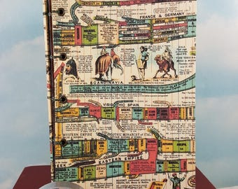 History of the World Writing Journal with Colorful Ancient Timeline Covers