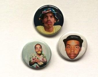 Earl Sweatshirt Pin Set Pinback Button Pin Badge x3