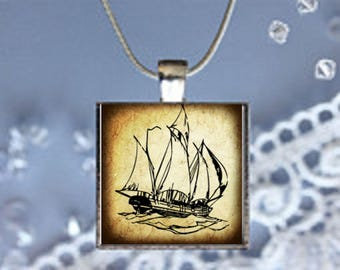 Pendant Necklace  Ships