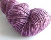 Dog Rose Tibetan Owl hand dyed merino/silk/yak fingering/4ply/sock yarn
