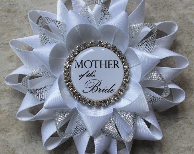 Mother of the Groom Gift, Bridal Shower Pins, Bridal Shower Gifts for Bride, Mother, Grandmother, Stepmother of the Bride, Bride to Be Pin