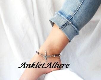 Anklet Starfish Ankle Bracelet Anklet for Women Blue Anklet Neckalces Available
