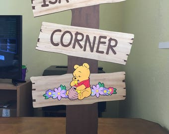 Pooh Corner - Winnie the Pooh Decoration with choice of Pooh, Tigger, Piglet, Eeyore or Roo
