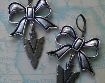 Bow N Arrow Earrings