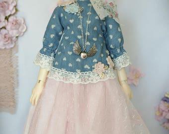 MSD BJD Clothing Dress Set